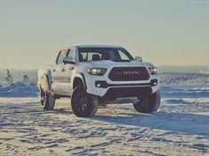 Toyota Tacoma TRD Pro cars truck pickup white 2016 wallpaper ...