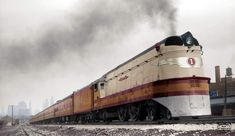 """The """"Hiawatha"""" (Train): Schedule, Photos, Speed, History Train Posters, Old Trains, Vintage Trains, Milwaukee Road, Rail Car, Train Pictures, Rolling Stock, Steam Locomotive, Model Trains"""