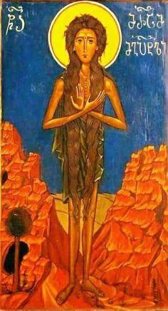 Sfanta Cuvioasa Maria Egipteanca.icon orthodox