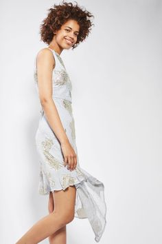 Shop the latest arrivals at Topshop with New In clothing and accessories. Lace Midi Dress, White Fabrics, Hemline, Special Occasion, Topshop, Chic, My Style, Floral, Outfits
