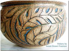 Susan Brown Freeman Pottery by Penny Sanford Porcelains, via Flickr