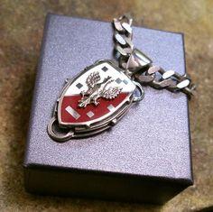 POLSKA|SREBRNY EMALIOWANY WISIOR|Wisior Srebrny|Silver Pendant|Handmade|By Norman Man Jewellery