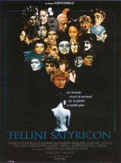 Cinelodeon.com: Satiricon. Federico Fellini.