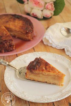 Cocinando entre Olivos: Tarta de almendra y tocino de cielo. Receta paso a paso.