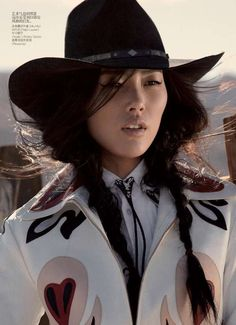 East Meets the Old West in This Vogue China May 2011 Editorial #festivalstyle #bohemian trendhunter.com