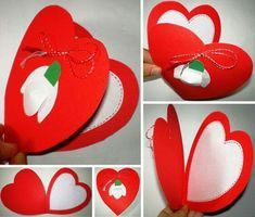 Diy Crafts To Sell, Diy Crafts For Kids, Easy Crafts, Art For Kids, March Crafts, Spring Crafts, Valentine Crafts For Kids, Mothers Day Crafts, Diy Niños Manualidades