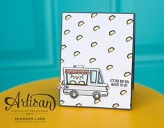 Crush On Colour: Tasty Trucks - Stampin' Up! Artisan Design Team Blog Hop for Sale-A-Bration!