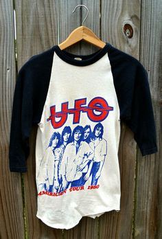 Vintage The Who Early 80s Tour T Shirt Small Rock By