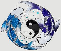 deviantART: More Like betta pisces yin-yang by ~luvmegabyte