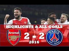 Arsenal vs PSG 2 2 ● Highlights & All Goals ● UCL November 2016