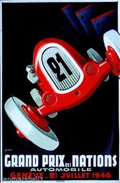 1946-Geneve-Grand-Prix-Nation-Art-Automobile-Race-Advertisement-Vintage-Poster