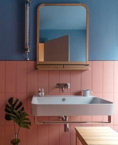 Grzywinski+Pons Infuses the Whitworth Locke Hotel with a Classic Yet Contemporary Charm - Design Milk Bathroom Inspiration, Interior Inspiration, Modern Bathroom, Small Bathroom, Bathroom Interior Design, Interior Decorating, Interior Livingroom, Interior Architecture, Interior And Exterior