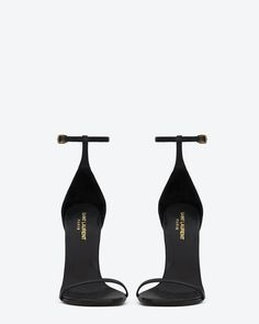 Wedding Ideas: classic-saint-laurent-jane-sandal-in-black-leather_805167729
