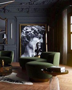 25 Popular Classic Living Room Design 2019 - Home Design Contemporary Home Decor, Contemporary Design, Contemporary Apartment, Contemporary Classic, Modern Design, Living Room Designs, Living Room Decor, Dining Room, Living Spaces