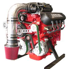 Ls1 engine for an airboat setup equipped with corvette water pump custom built lsx 427 cubic inch engine with magnuson tvs2300 supercharger built for airboat usage malvernweather Gallery