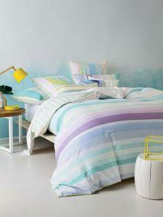Montego Bay Aqua Quilt Cover Set