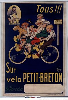 Poster for Pneu Dunlop (1921) illustrated by Mich