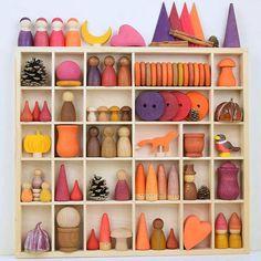 Toddler Toys, Baby Toys, Kids Toys, Diy Sensory Toys, Waldorf Toys, Waldorf Playroom, Fox Toys, Doll Carrier, Woven Wrap