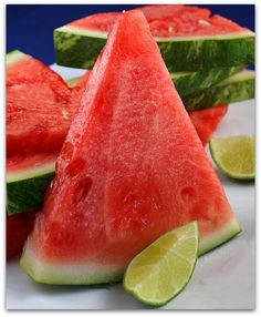 Health tip from our horses: Today, slice up some WATERMELON for you ...