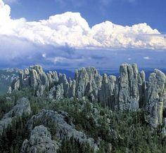 The Black Hills and Bandlands of South Dakota