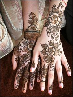 Indian Arabic Mehndi Dessigns Collection