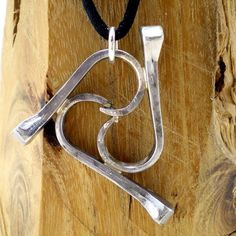 Horse Shoe Nail Triple Wave Equestrian by wirestormcreations, $20.00