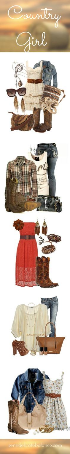 Country Outfits – Perfect Country Girl Outfits for a Military Homecoming Country Girl Outfits, Country Girl Style, Country Fashion, Country Girls, Country Dresses, Country Girl Clothes, Mode Country, Estilo Country, Country Fall