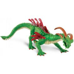 This is an awesome figure of a Swamp Dragon. The Swamp Dragon figure is produced by Safari, a company well known for making high quality and hand painted figures. The Swamp Dragon looks great! He's ro