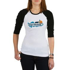 a57e9bc4e8cc79 Cape Elizabeth ME - Surf Design. Shirt on CafePress.com Cancer Awareness