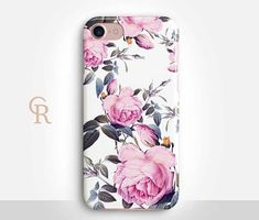 Floral Phone Case Case For iPhone 8 iPhone 8 Plus  iPhone X