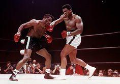 Muhammad Ali Defeating Floyd Patterson, Las Vegas, NV, November, 1965. Photo by Lawrence Schiller