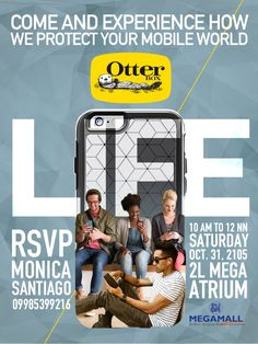 Experience Otterbox on October 31 at the SM Mega Mall Atrium