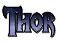 thor+logo+marvel | Fan Thor 2011 Movie Logos Blue by ~Marvel-Freshman on deviantART