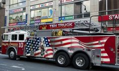One cool fire truck. <3. I would love to actually see ten truck up close!