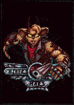 Biker Mice from Mars (Throttle)