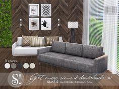 by SIMcredibledesigns.com Found in TSR Category 'Sims 4 Sofas & Recliners'