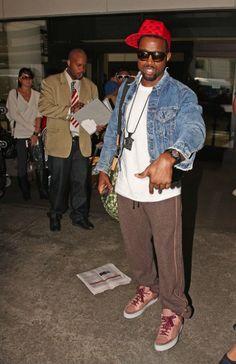 Kanye in a Denim Jacket