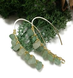 Green Aventurine Stone Earrings / Made to Order 2019 Green Aventurine Stone Earrings / Made to Order The post Green Aventurine Stone Earrings / Made to Order 2019 appeared first on Jewelry Diy. Bar Stud Earrings, Diy Earrings, Stone Earrings, Natural Stone Jewelry, Green Aventurine, Minimalist Jewelry, Jewelry Organization, Wire Jewelry, Jewlery