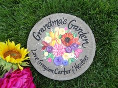 Grandmothers Day Stepping Stone, Mothers Day, Mother's Day Gifts, Mothers Day Garden Stone, Mother's Day Gift, Garden Gift, Gift for Mother by samdesigns22 on Etsy