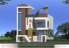 Flat House Design, House Front Wall Design, House Balcony Design, House Outer Design, House Arch Design, House Main Gates Design, Architect Design House, Duplex House Design, Modern House Design