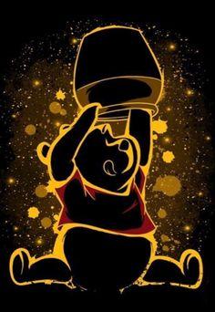 Disney Artwork, Disney Fan Art, Disney Drawings, Disney Love, Cute Drawings, Cute Winnie The Pooh, Winne The Pooh, Winnie The Pooh Friends, Cute Disney Wallpaper