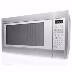 Sharp 2 Cu Ft 1200 Watt Stainless Steel Countertop Microwave Factory Reconditioned
