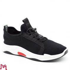 Pantofi Sport Barbati YD8201 Black Se7en