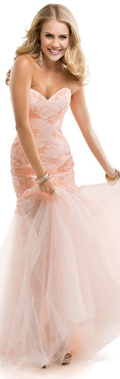 Sexy Trumpet/Mermaid Sweetheart Lace Sequins Sweep/Brush Train Tulle #EveningDresses #FormalDresses