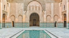 Things to See // Ben Youssef Madrasa
