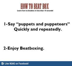 How to beatbox