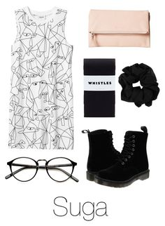 """Valentine's Day with Suga"" by btsoutfits ❤ liked on Polyvore featuring Dr. Martens, Monki and ECCO"