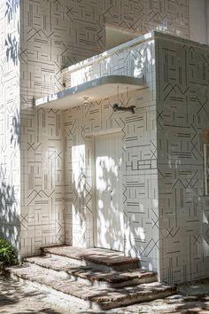 The concept restaurant, covered in 10,000 bones, was designed by Cadena+asociados.