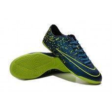 Nike Mercurial Victory V IC-Squadron Azul Negro Volt zapatillas de fútbol  baratas Futbol 7c644aca3f7