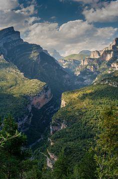 Aniclo Valley, Ordesa National Park, Pyrenees Range, Spain.